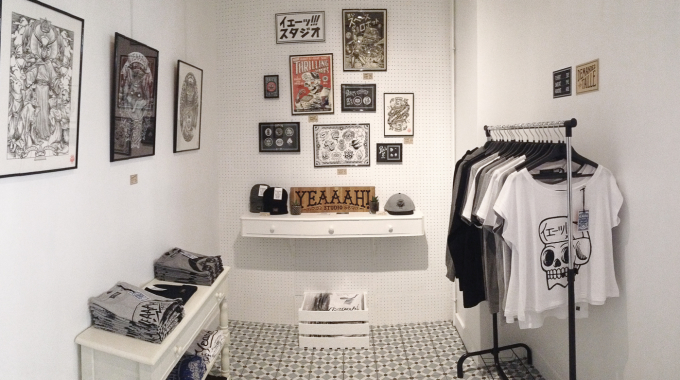 Yeaaah! installe son pop up store chez Place A