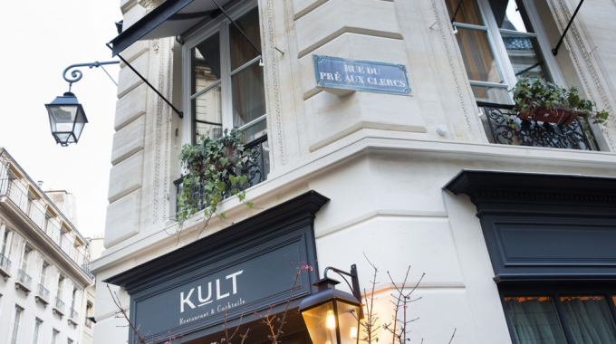 Kult, bar à cocktails intimiste et néo-bistrot années 30
