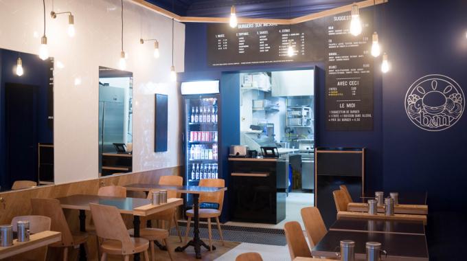 B&M Burger ouvre une deuxième cantine parisienne dans le 18e arrondissement