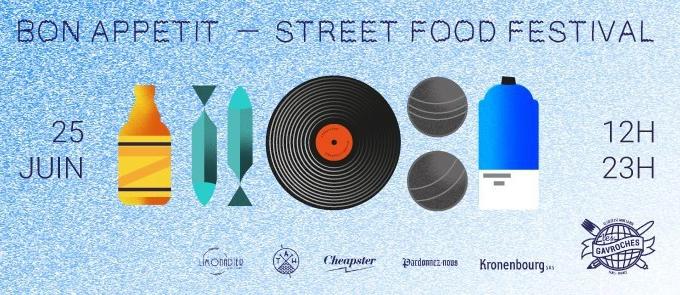 Le samedi 25 juin, rendez-vous au Bon Appétit Street Food Festival#4