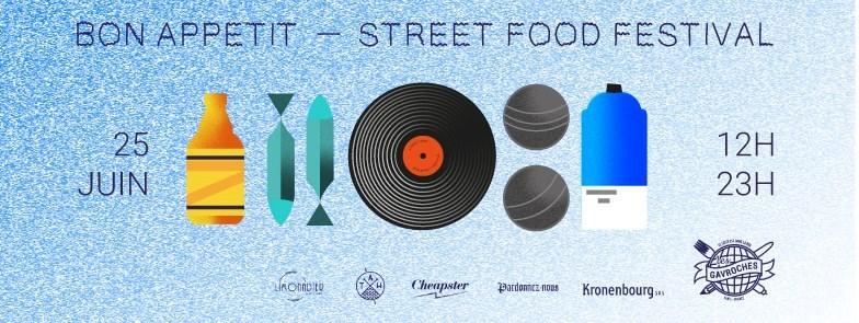 oopsie street food affiche