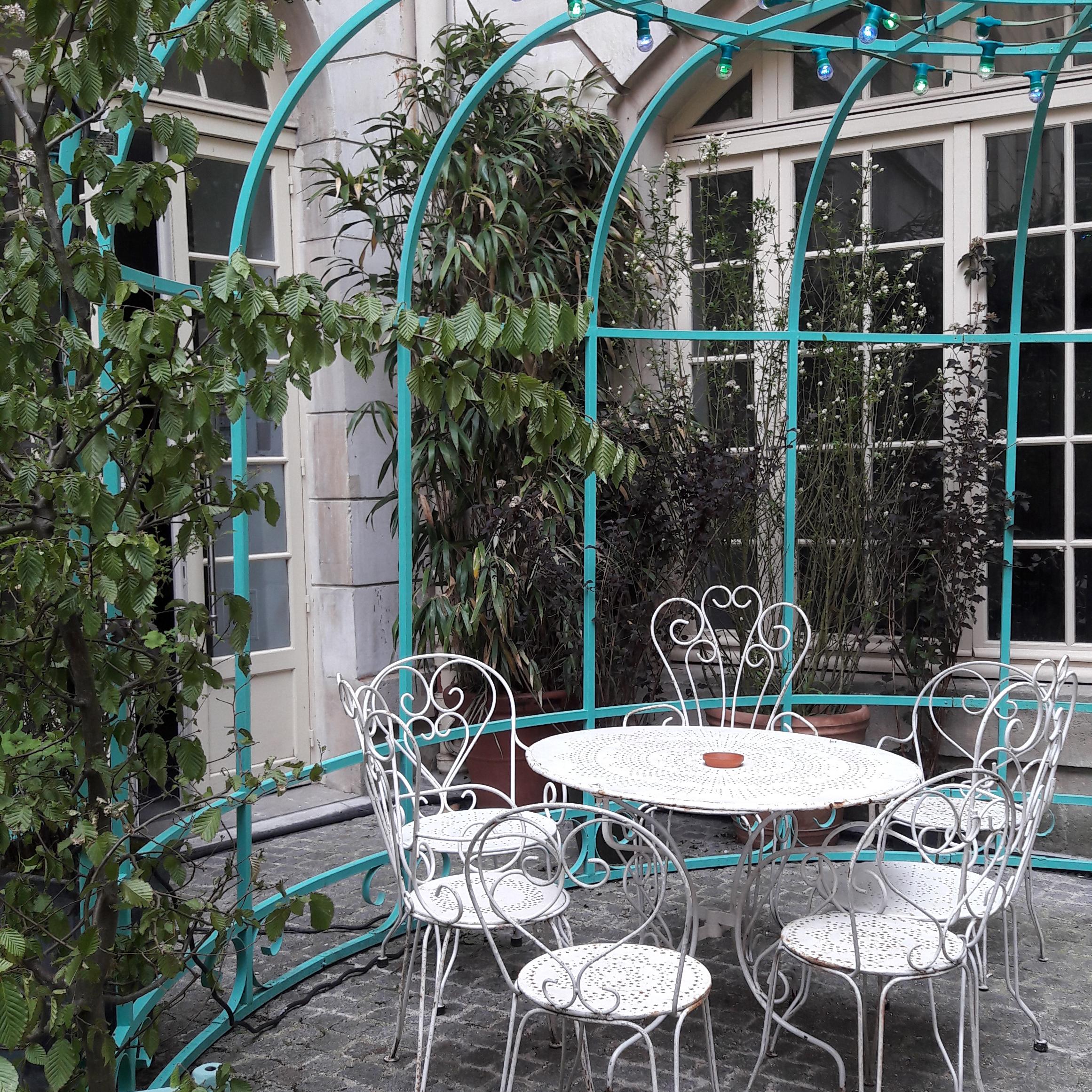 Le Jardin Municipal Nouvelle Terrasse Ph M Re Au Coeur Du Marais  # Abris De Jardin Frais Marais