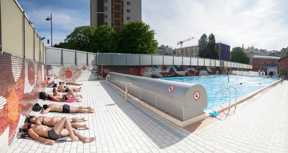 Quatre spots pour une baignade paris oopsie blog for Buttes aux cailles piscine