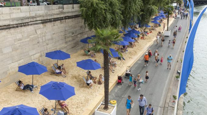Quatre spots pour une baignade à Paris