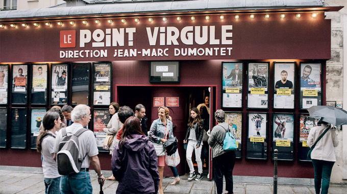 Le Point Virgule, temple de l'humour en plein coeur de Paris