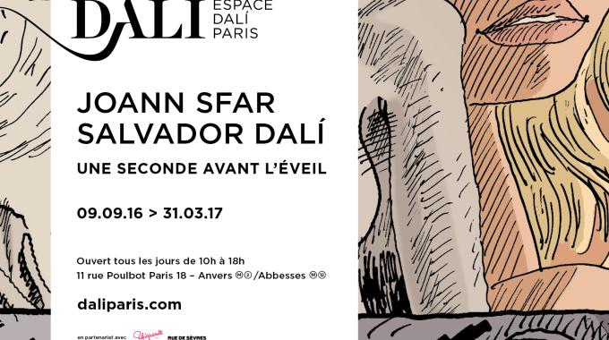 Joann Sfar, Salvador Dali, une seconde avant l'éveil