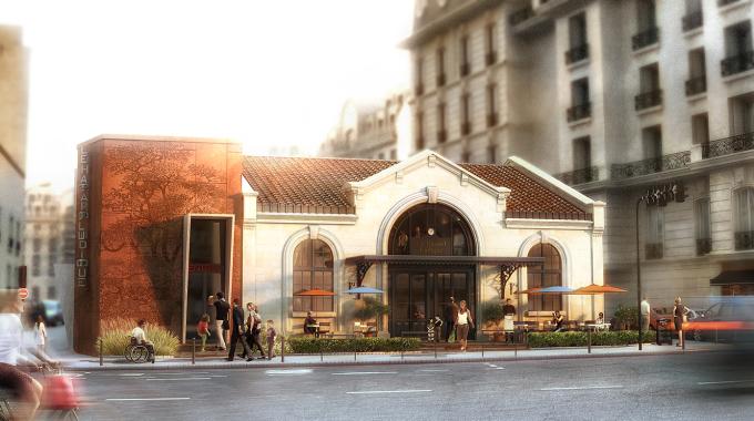 Le Hasard Ludique, un lieu culturel dans l'ancienne gare de Saint-Ouen pour 2017