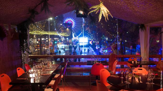 Sohso, un restaurant éphémère perché dans les arbres