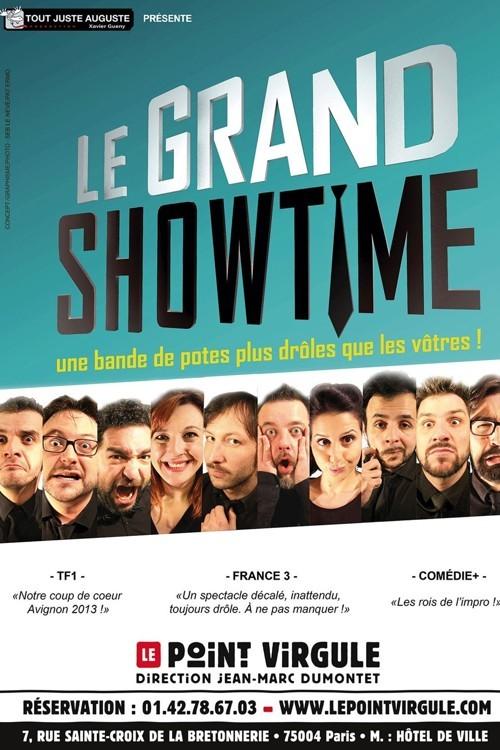 Affiche Le Grand Showtime