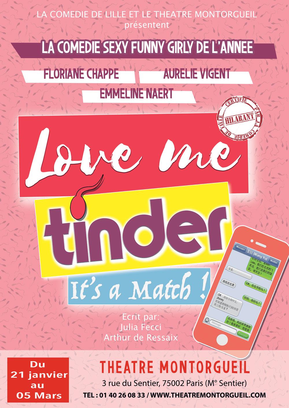 Love Me Tinder, une comédie déjantée à l'ère de la drague 2.0