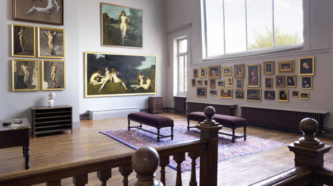 Le Musée Jean-Jacques Henner, témoignage de l'art officiel du 19ème siècle