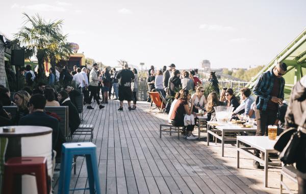 Le Café Oz installe son rooftop à la Cité de la Mode et du Design