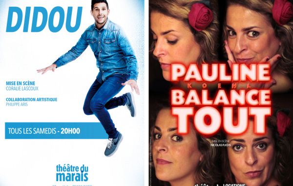 Didou et Pauline Koehl au Théâtre du Marais