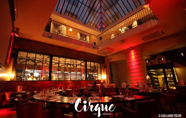 Le Cirque : une cuisine francaise traditionnelle à déguster sous une verrière