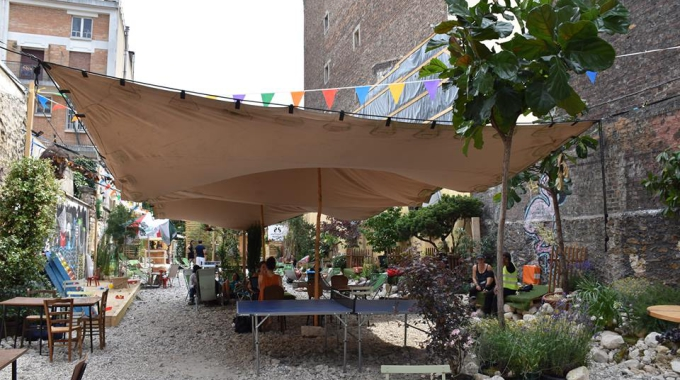 88 Menilmontant, le spot éphémère de l'été imaginé par La Bellevilloise