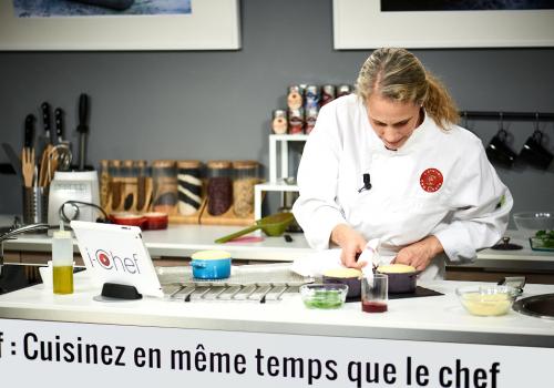 i-Chef, les cours de cuisine interactifs de l'Atelier des Chefs
