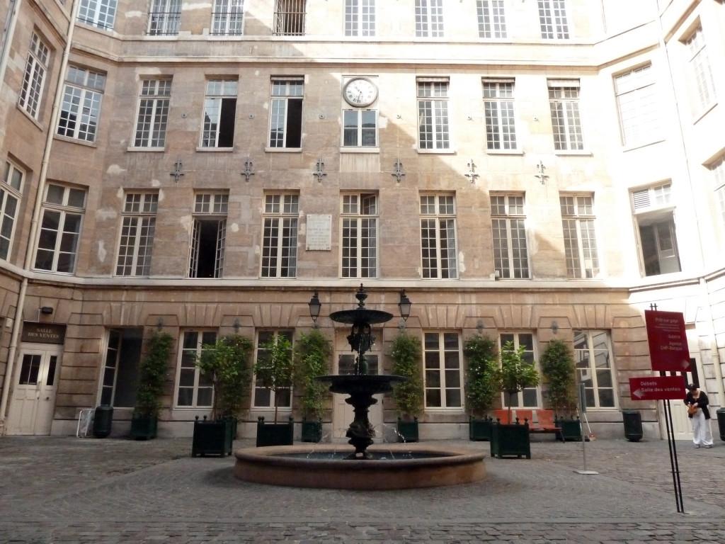 Cour Framboisier de Beaunay