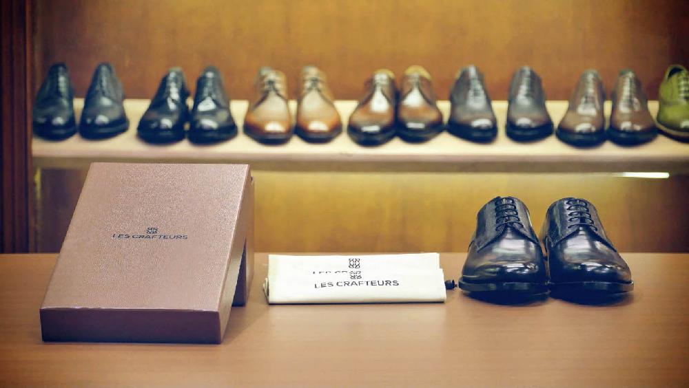 Les Crafteurs : des souliers masculins en cuir, fabriqués à la main