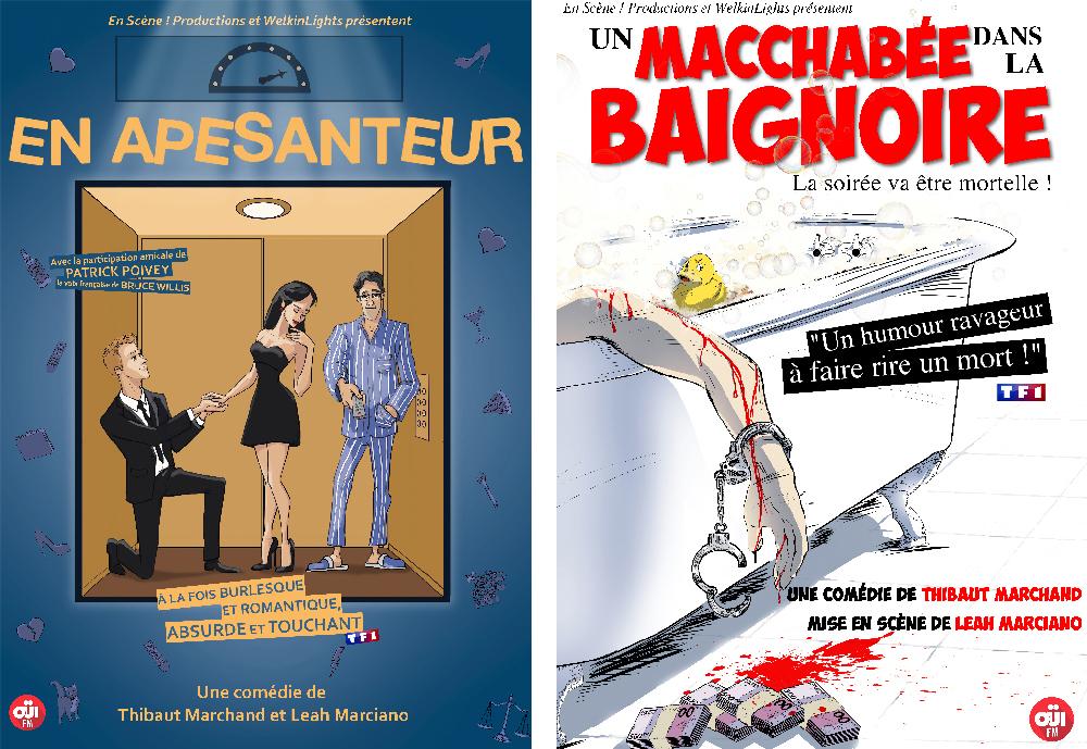 Théâtre Montmartre Galabru : petites disputes et grosses frayeurs