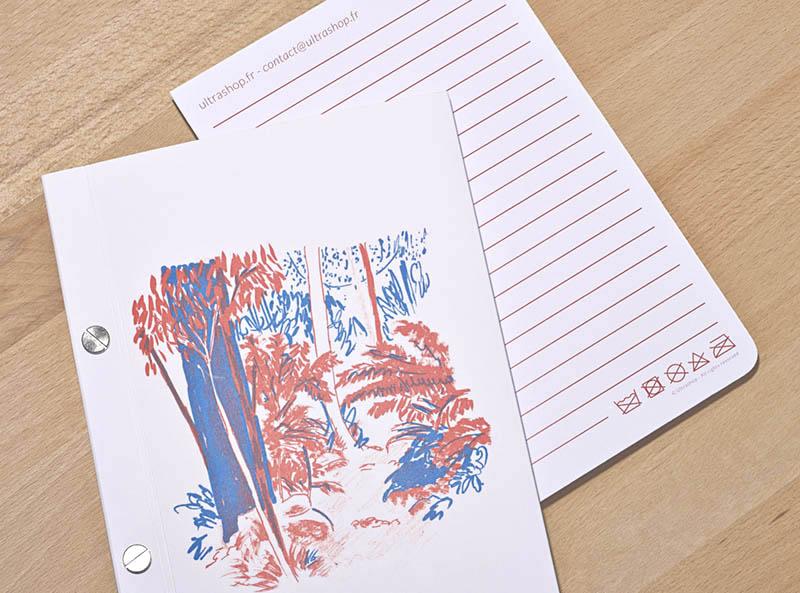 fiche carnet notebook ultrashop oopsie