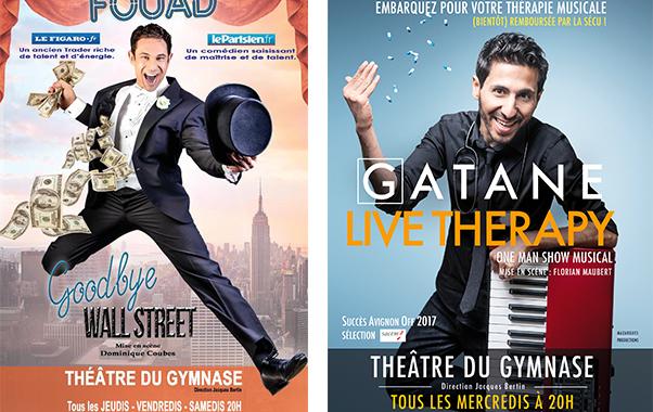 Goodbye Wall Street et Live Therapy au Théâtre du Gymnase