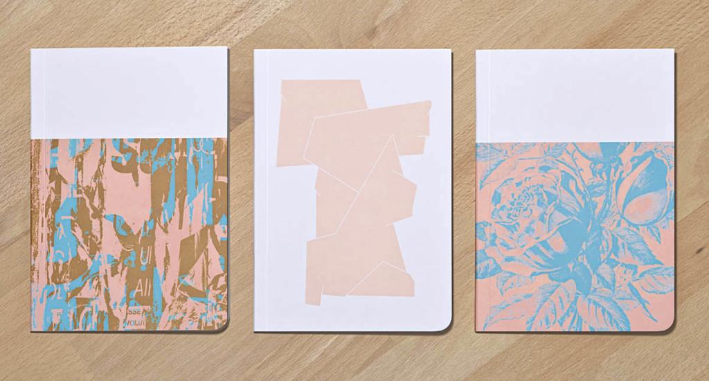 set 3 notebooks Elysian flavor by ultrashop - 3 carnets oopsie
