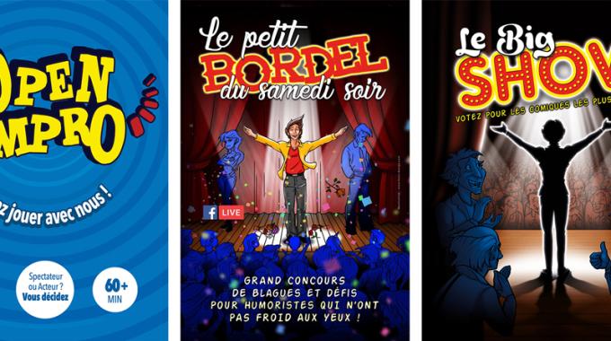 Théâtre Le Bout : 3 spectacles d'impro à ne pas manquer