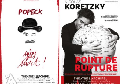 Popeck et Point de Rupture : du rire et de l'émotion au Théâtre de l'Archipel