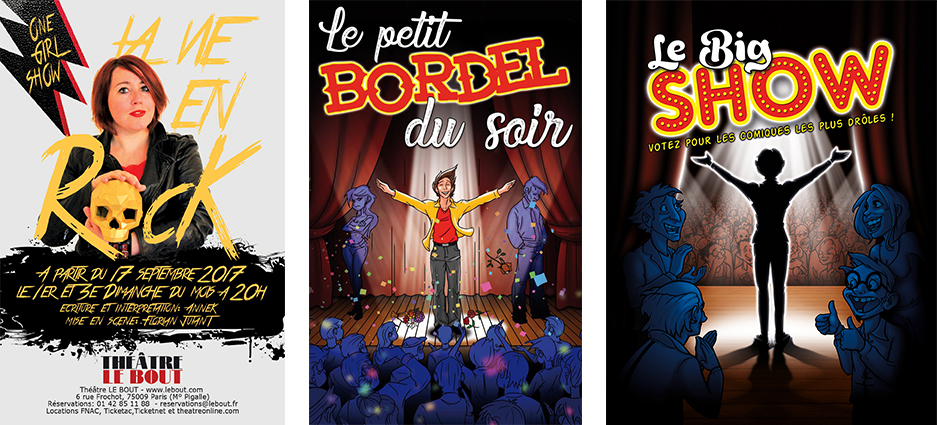 Bordel et rock'n'roll au Théâtre Le Bout