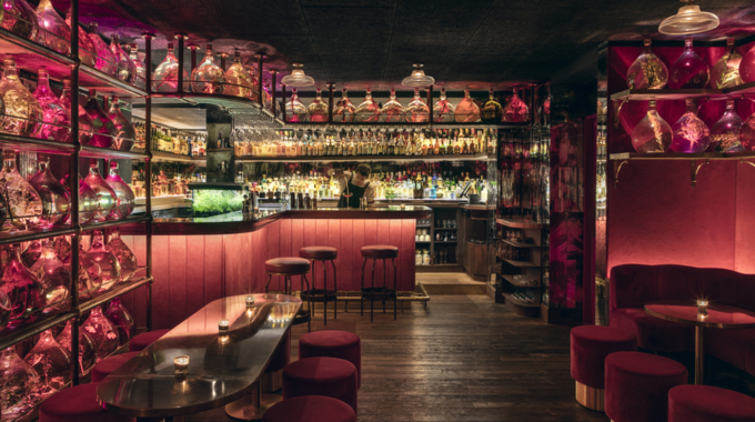 La nouvelle carte régressive du No Entry, le speakeasy de Pink Mamma