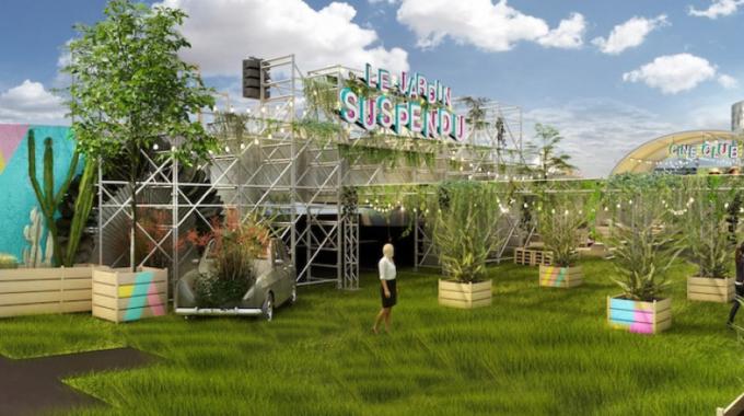 Le Jardin Suspendu : un rooftop végétal éphémère ouvre bientôt à Paris