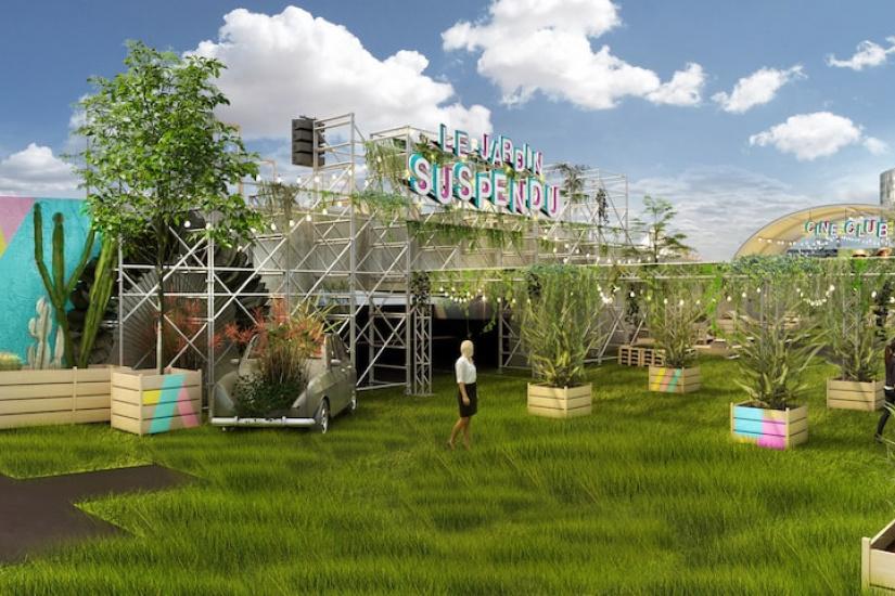 le jardin suspendu un rooftop v g tal ph m re ouvre bient t paris oopsie blog. Black Bedroom Furniture Sets. Home Design Ideas