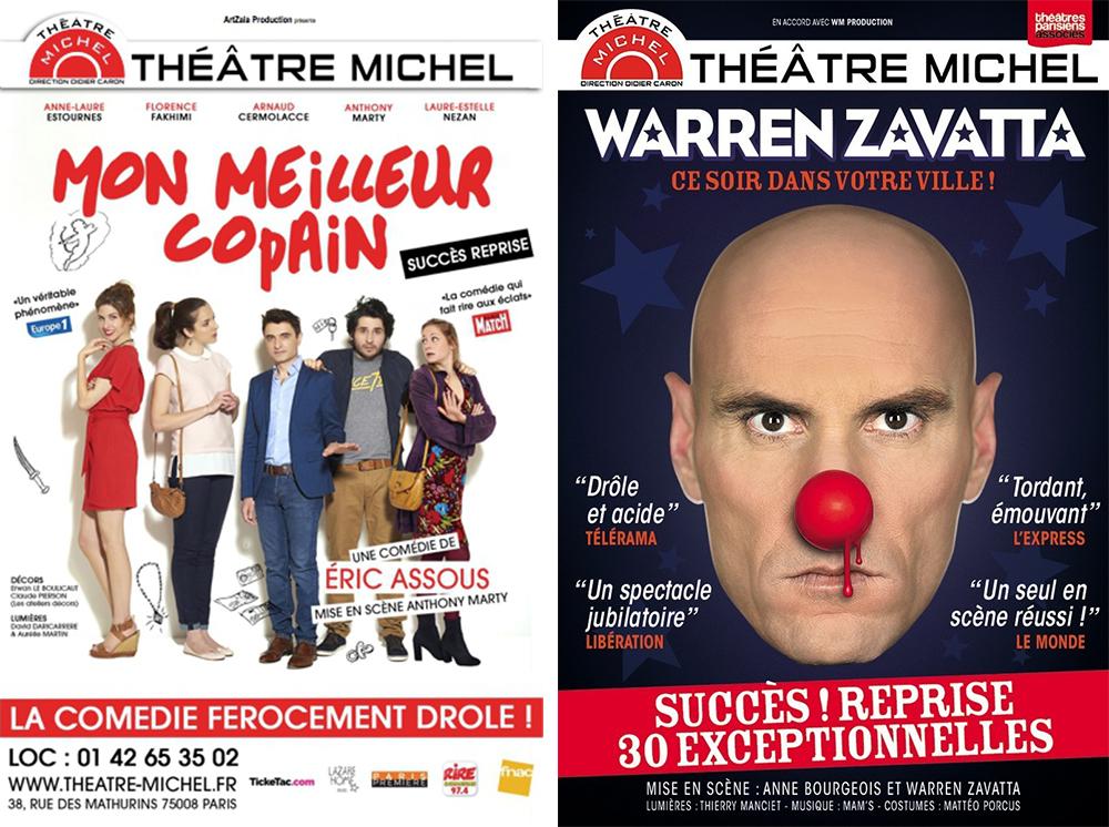 Warren Zavatta et Mon Meilleur Copain au Théâtre Michel