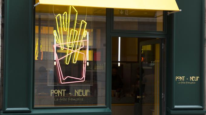 Pont Neuf, nouvelle baraque à frites gastronomiques