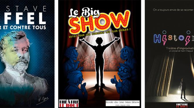 Le Big Show, Histoires et Gustave Eiffel au théâtre Le Bout