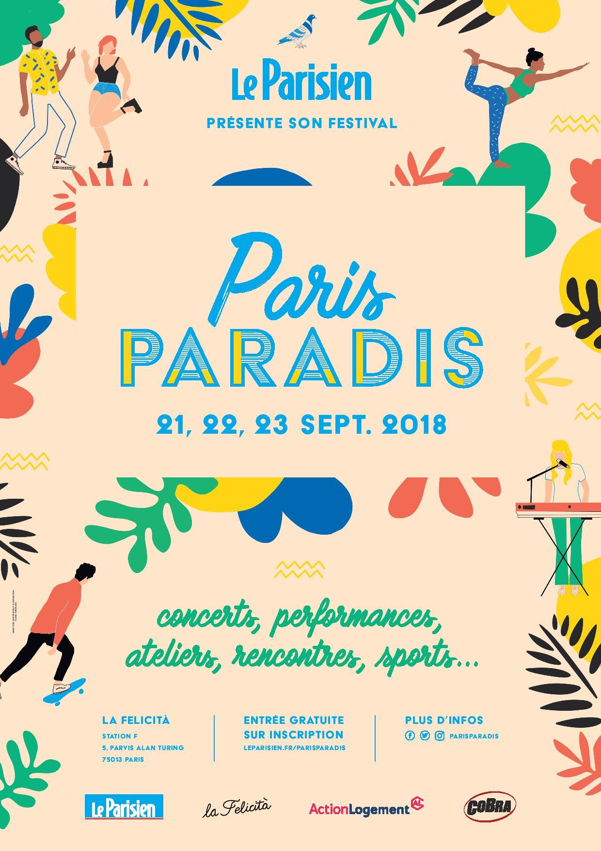 Paris Paradis: 3 jours de concerts, de sport et d'ateliers à La Felicità