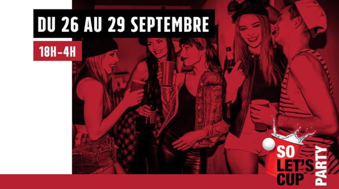 So, let's Cup Party : lieu éphémère à Paris cette semaine