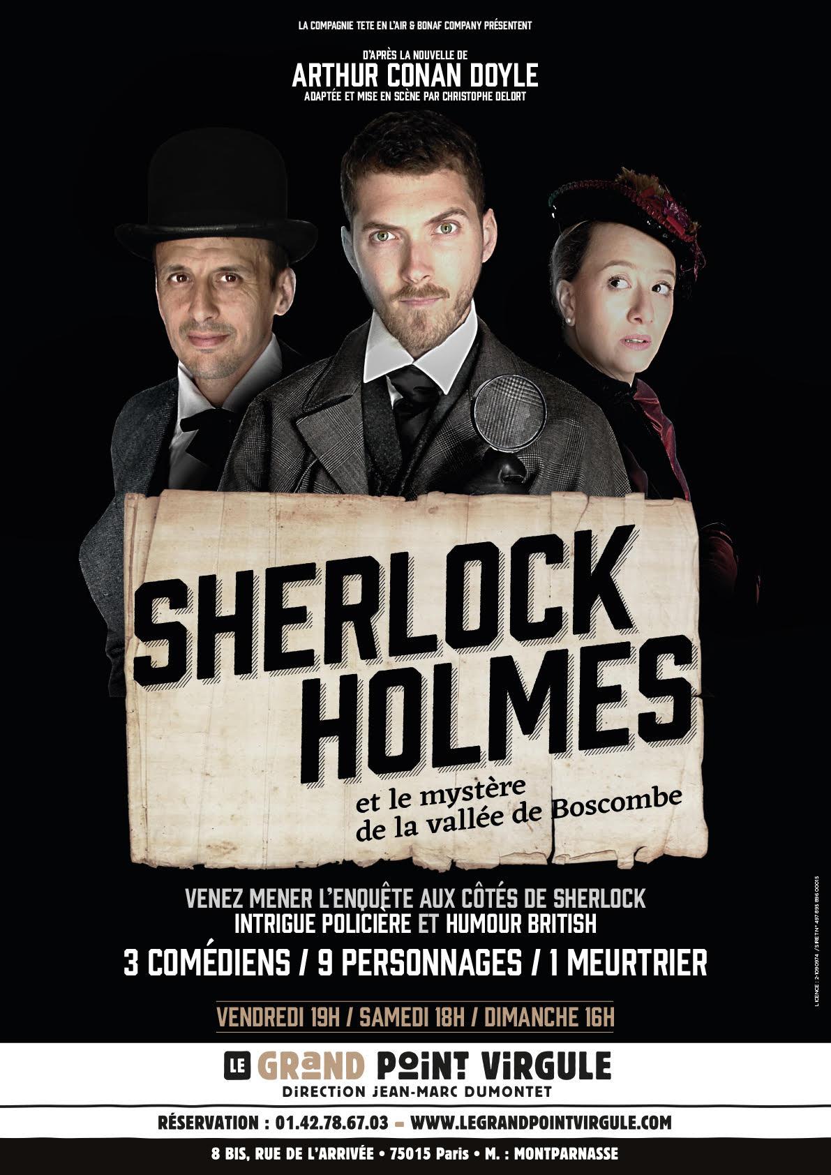 Sherlock Holmes au Grand Point Virgule