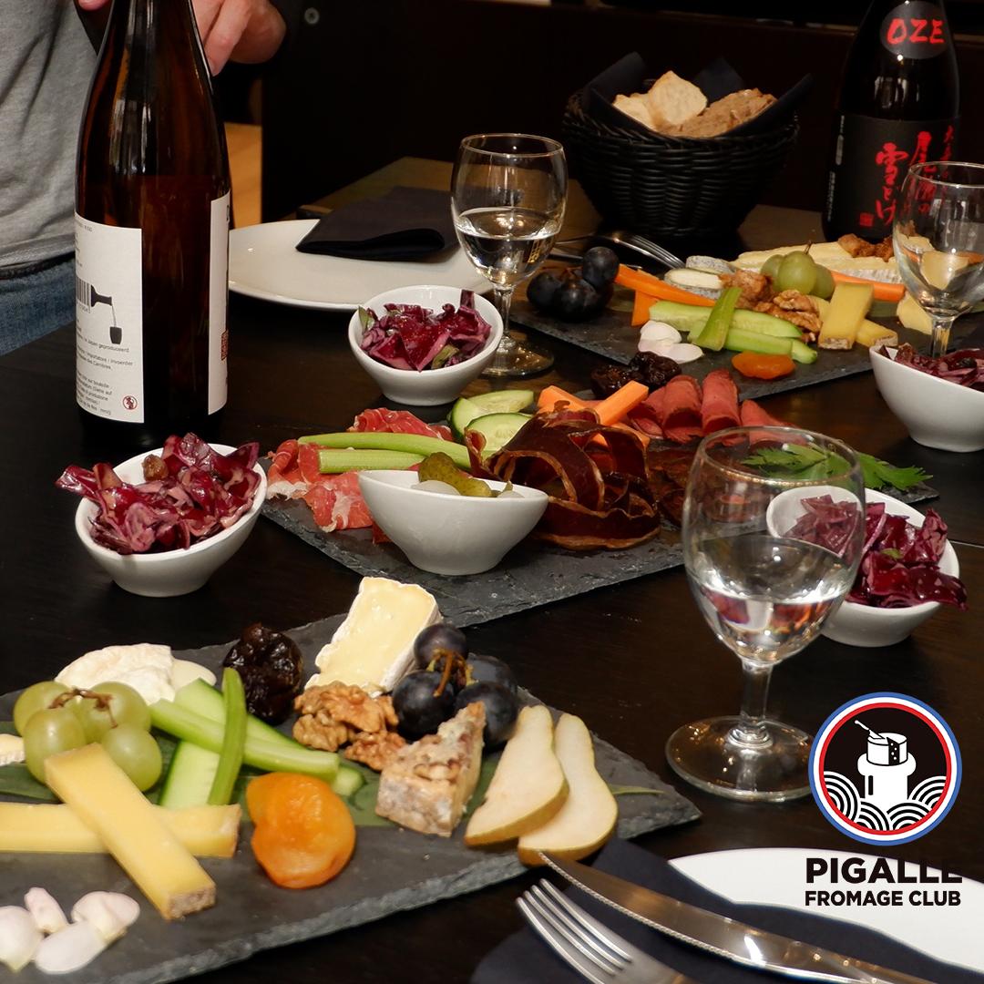 Pigalle Fromage Club: le premier bar à fromage et saké de Paris