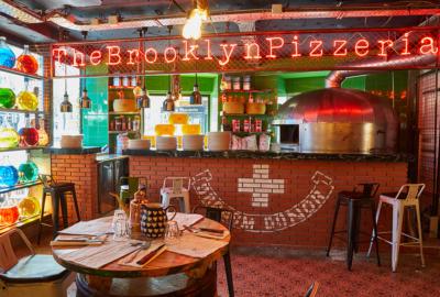 The Brooklyn Pizzeria, la nouvelle adresse de Garry Dorr