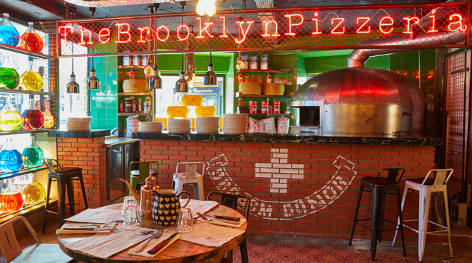 The Brooklyn Pizzeria, la nouvelle adresse de Garry Dorr