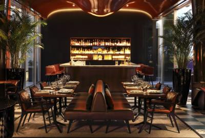Roxo, nouvelle table et bar à cocktails des Bains