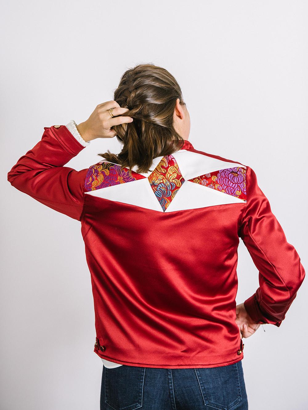 ACH : des vestes uniques au design graphique et coloré