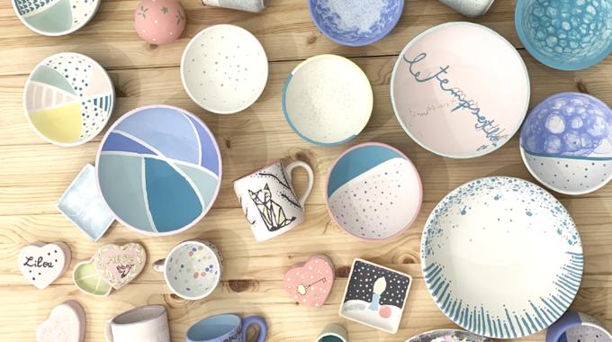 L'Atelier Geneviève : premier café à céramiques de la capitale