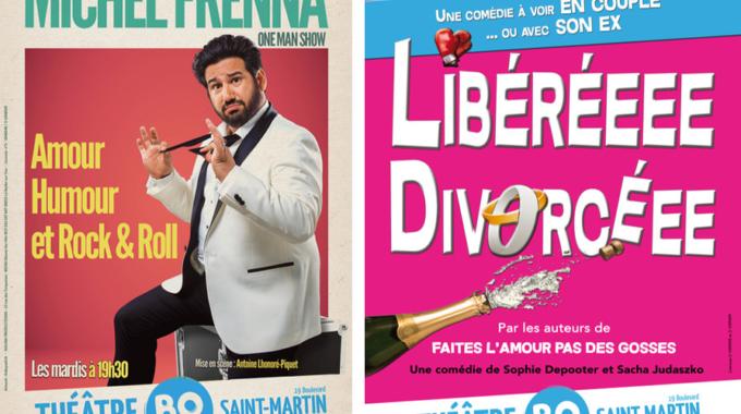 Amour, désamour et humour au Théâtre BO Saint-Martin