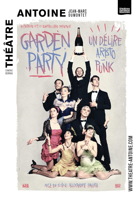 Garden Party au Théâtre Antoine