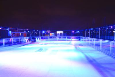 La patinoire éphémère de retour sur les toits de la Tour Montparnasse