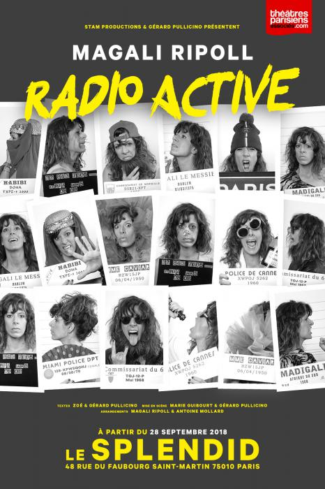Magali Ripoll : son one-woman show Radio Active au Splendid