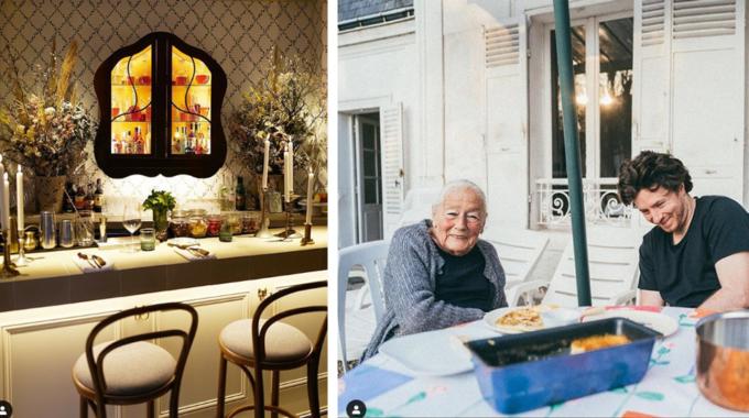 Mamie, le nouveau restaurant de Jean Imbert et de sa grand-mère