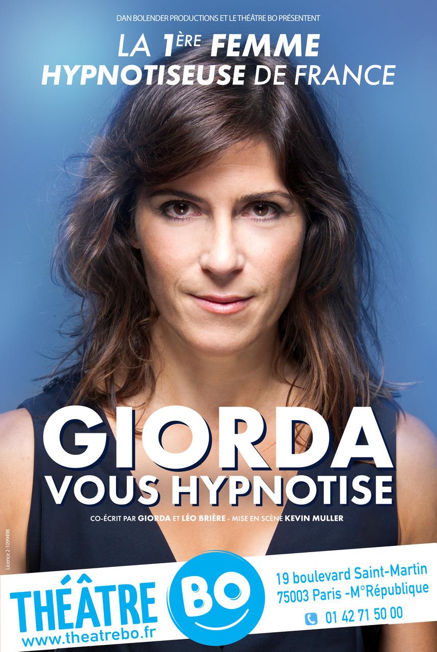 Giorda vous hypnotise au Théâtre BO Saint-Martin